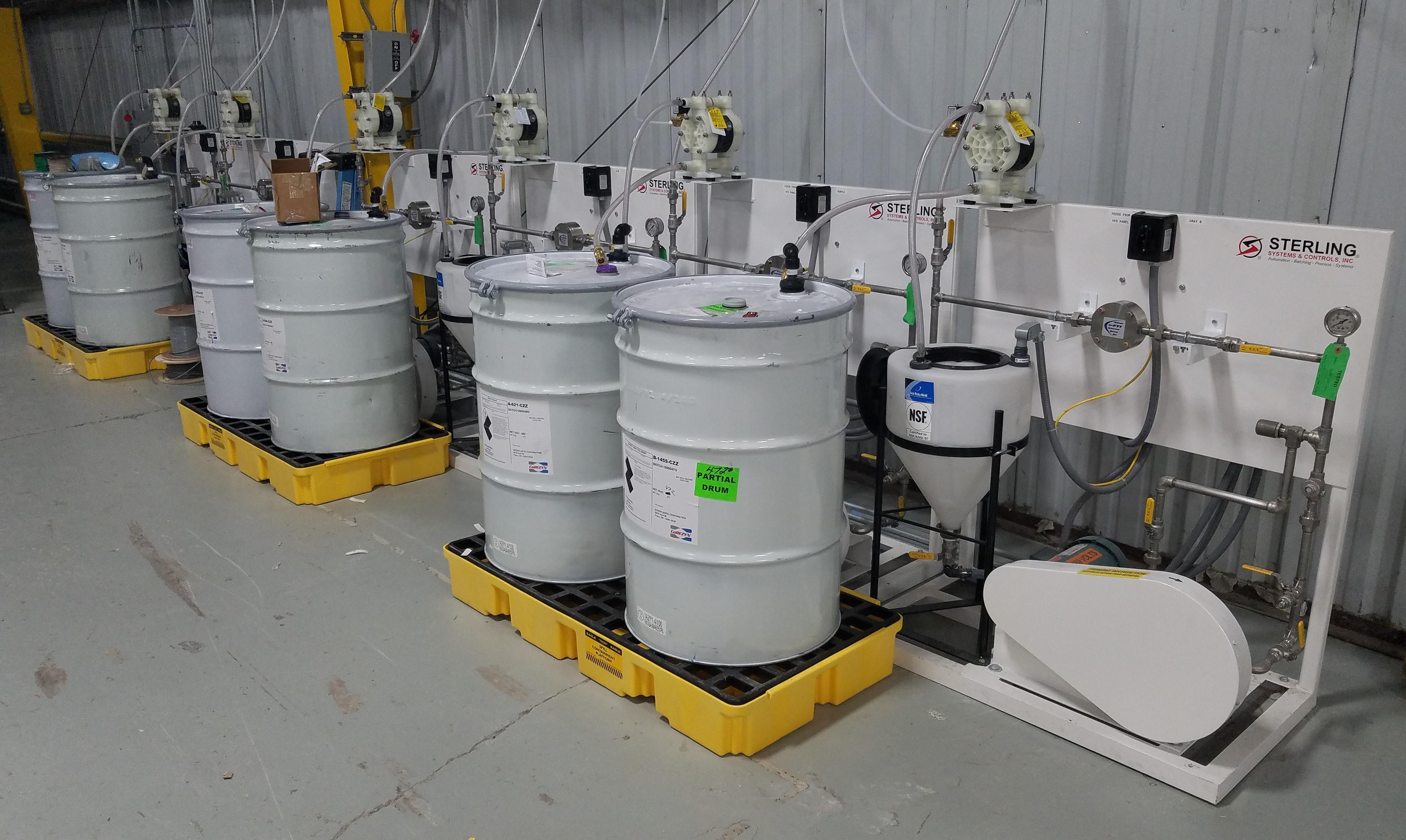 Liquid Colorant Dosing