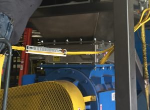 Bulk Bag Unloader with Magnet