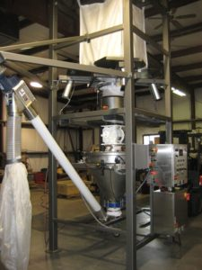 Bulk Bag Unloading & Weighing System