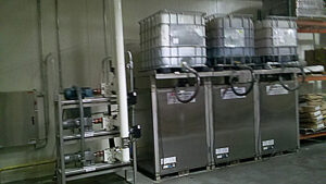 Liquid Dosing System with Totes