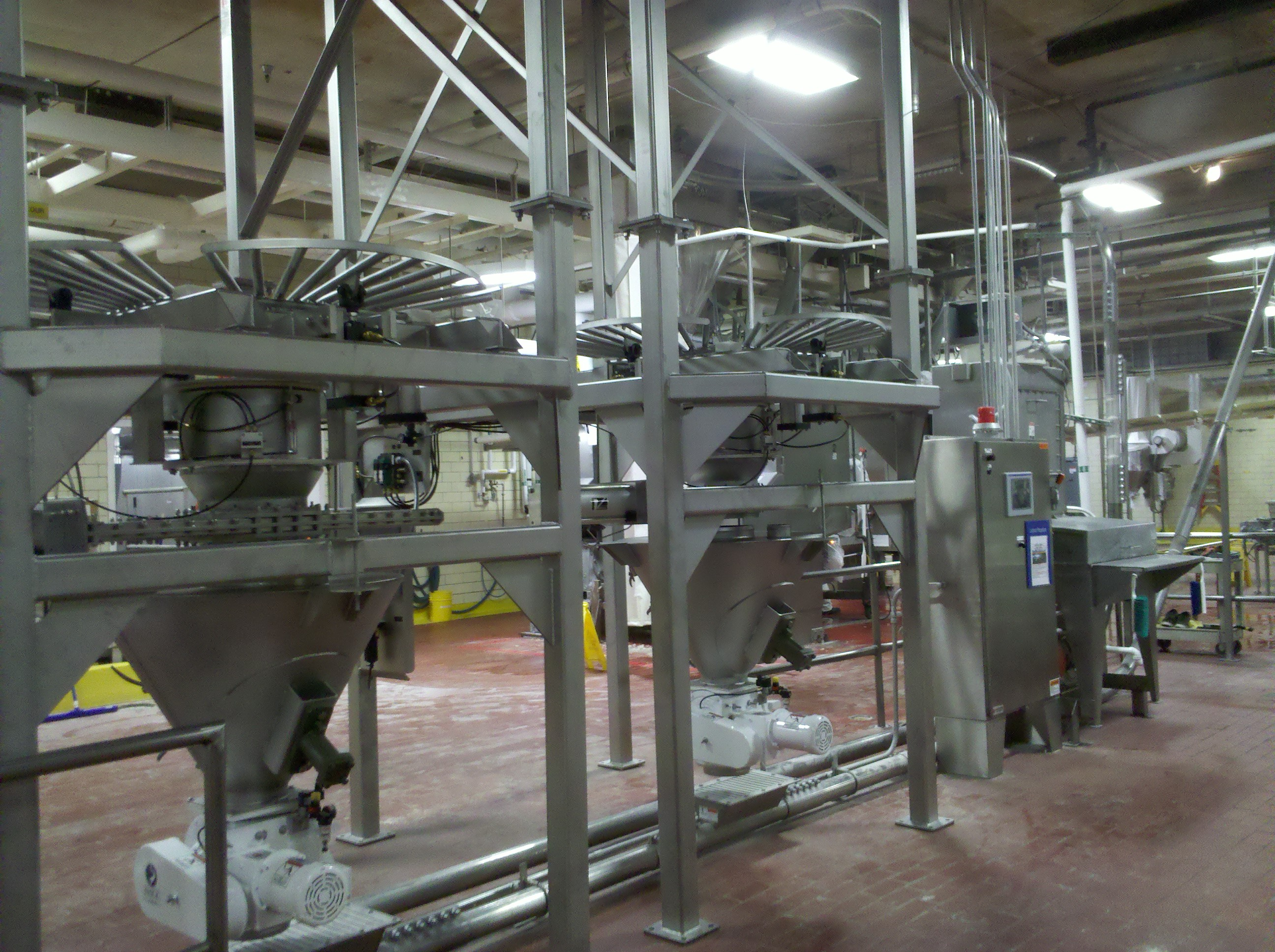 automating bulk solids processing